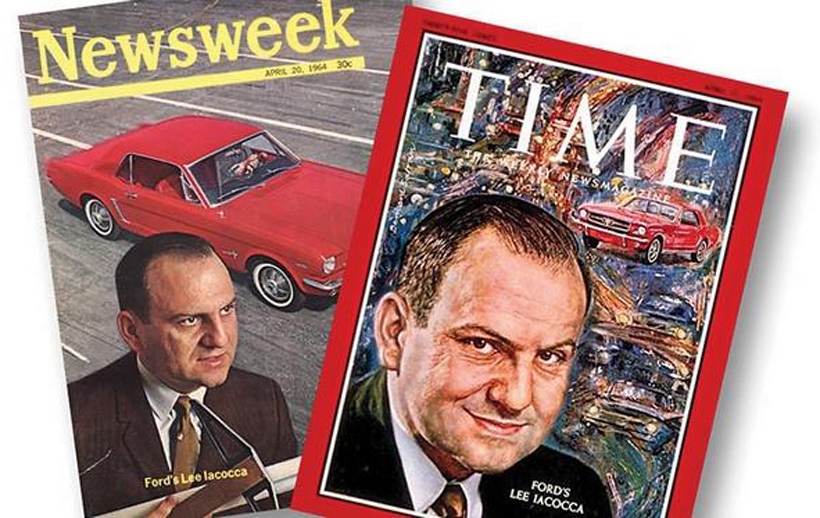 Lee Iacocca Time and Newsweek covers