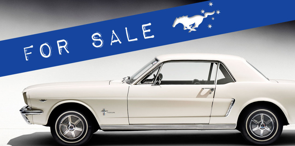 Mustangs on The Move For Sale