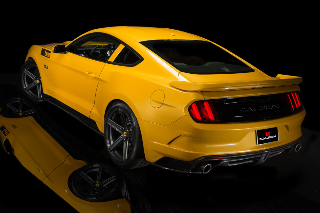 Saleen 302 Black Label Mustang
