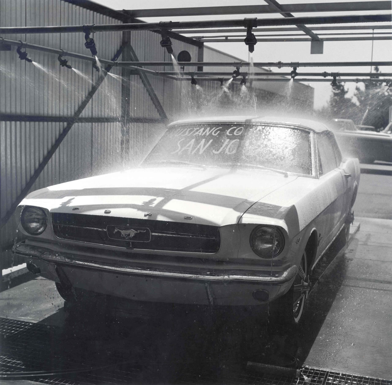 1964 Mustang Assembly Line San Jose CA
