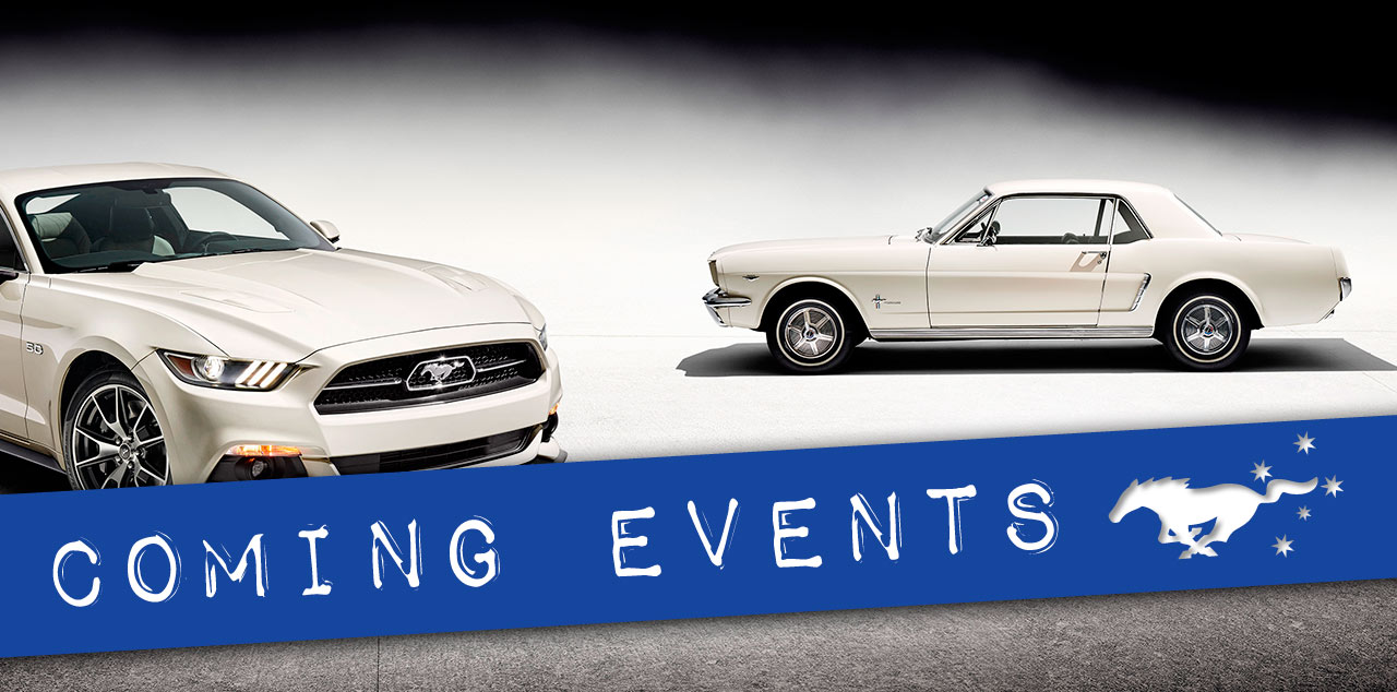 Mustangs on The Move Comings Events